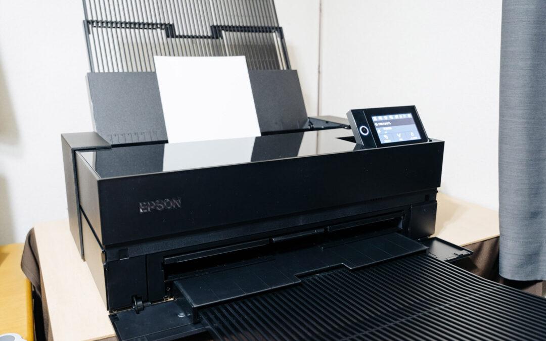EPSON高画質プリンター SC-PX1VL を導入